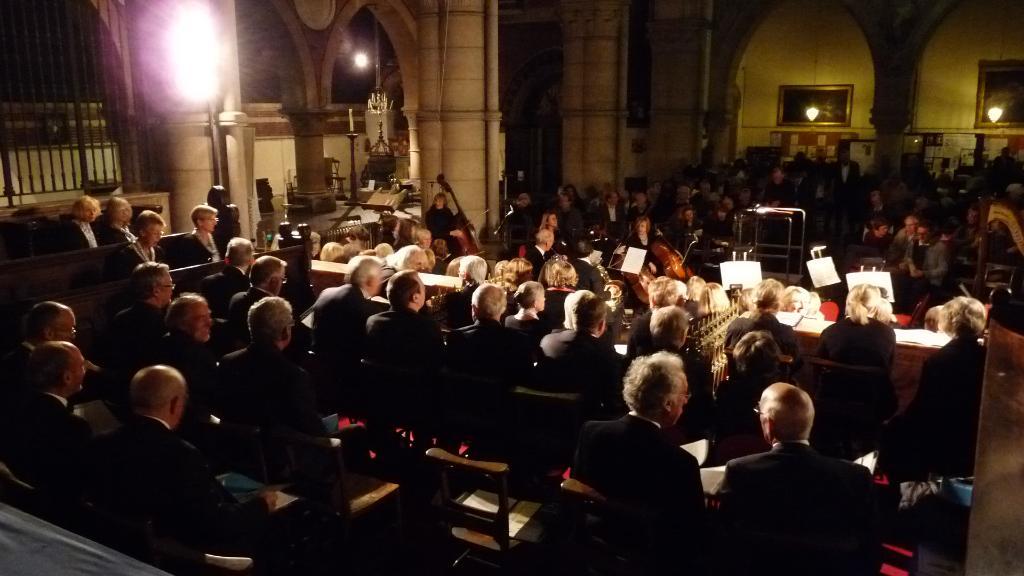 Top seven reasons to support the Shoreham Oratorio Choir